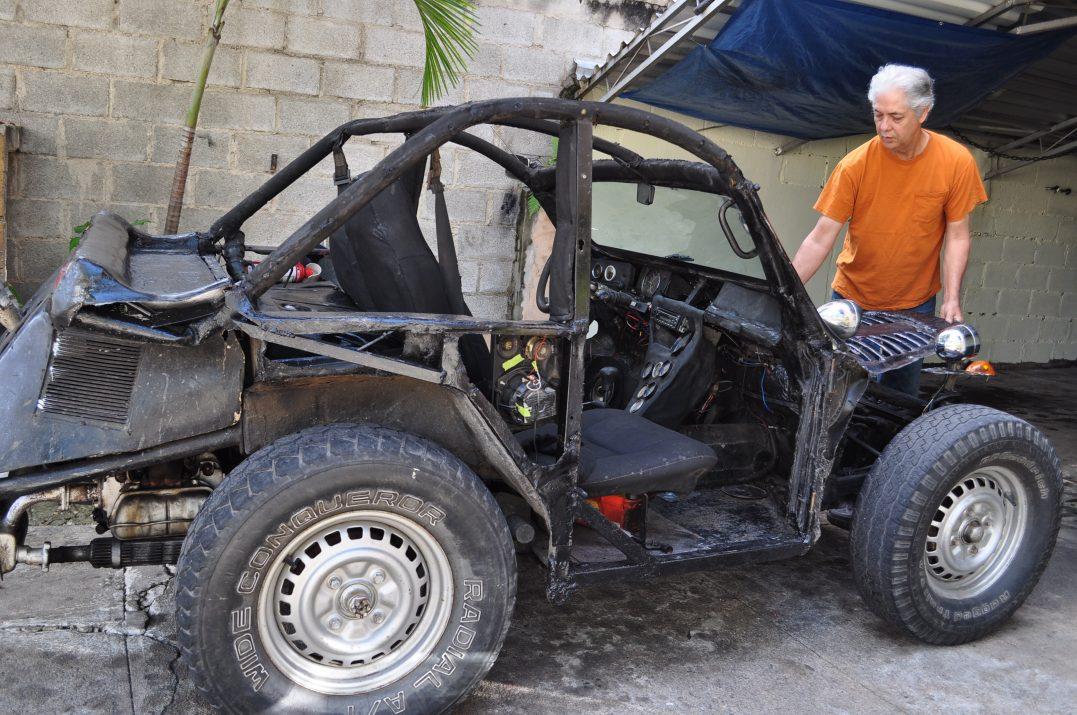 Buggy Jorgego czyli auto, jaki chciałby mieć Mad Max