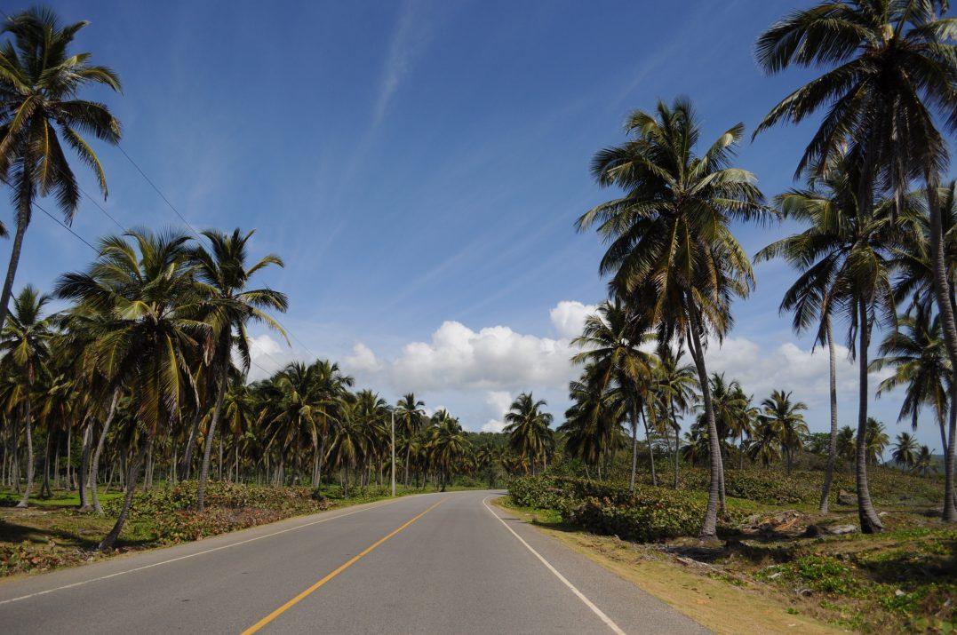Na pace do Las Galeras, widok z trasy