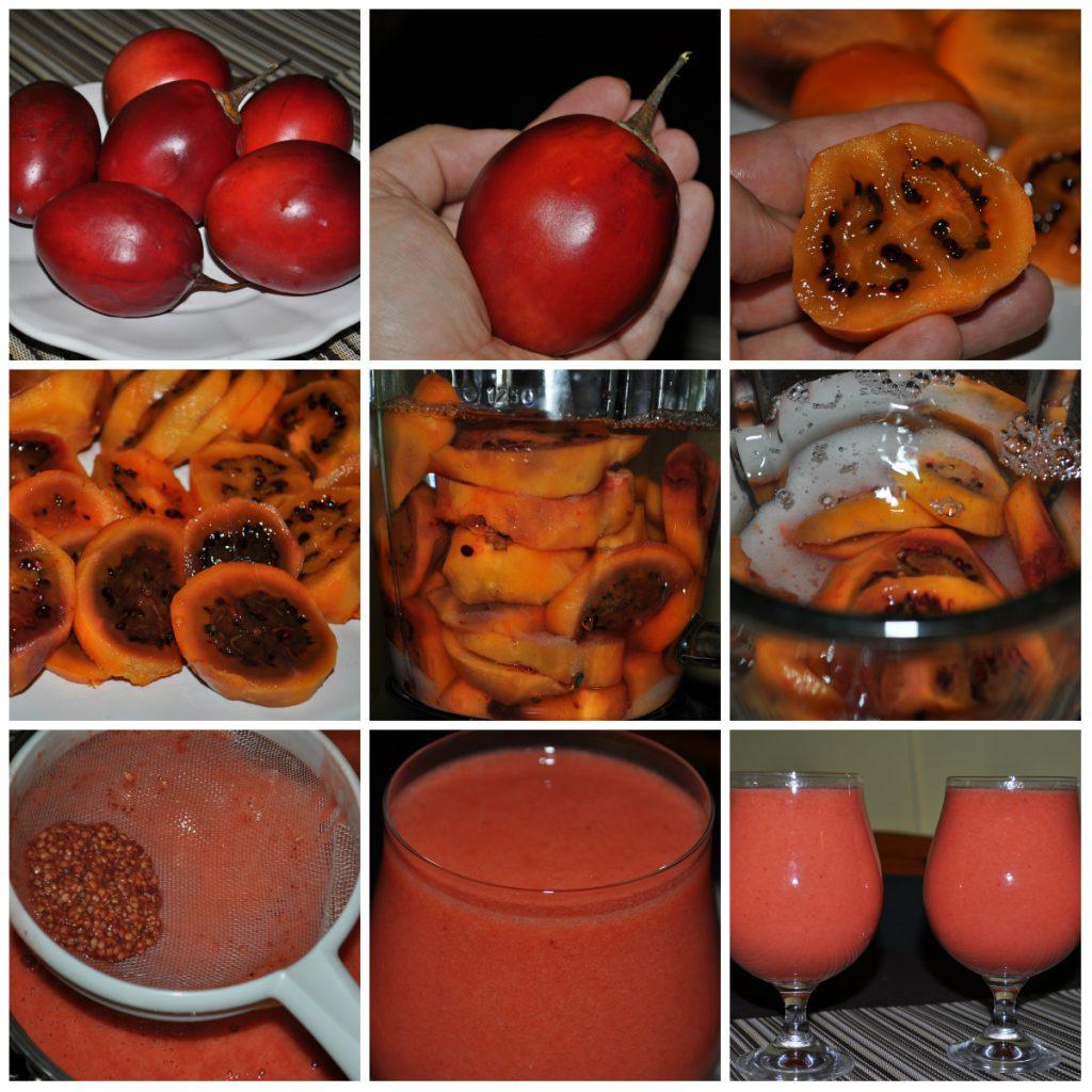 Tomate de árbol, czyli pomidor z drzewa. Jaki owoc taki sok!