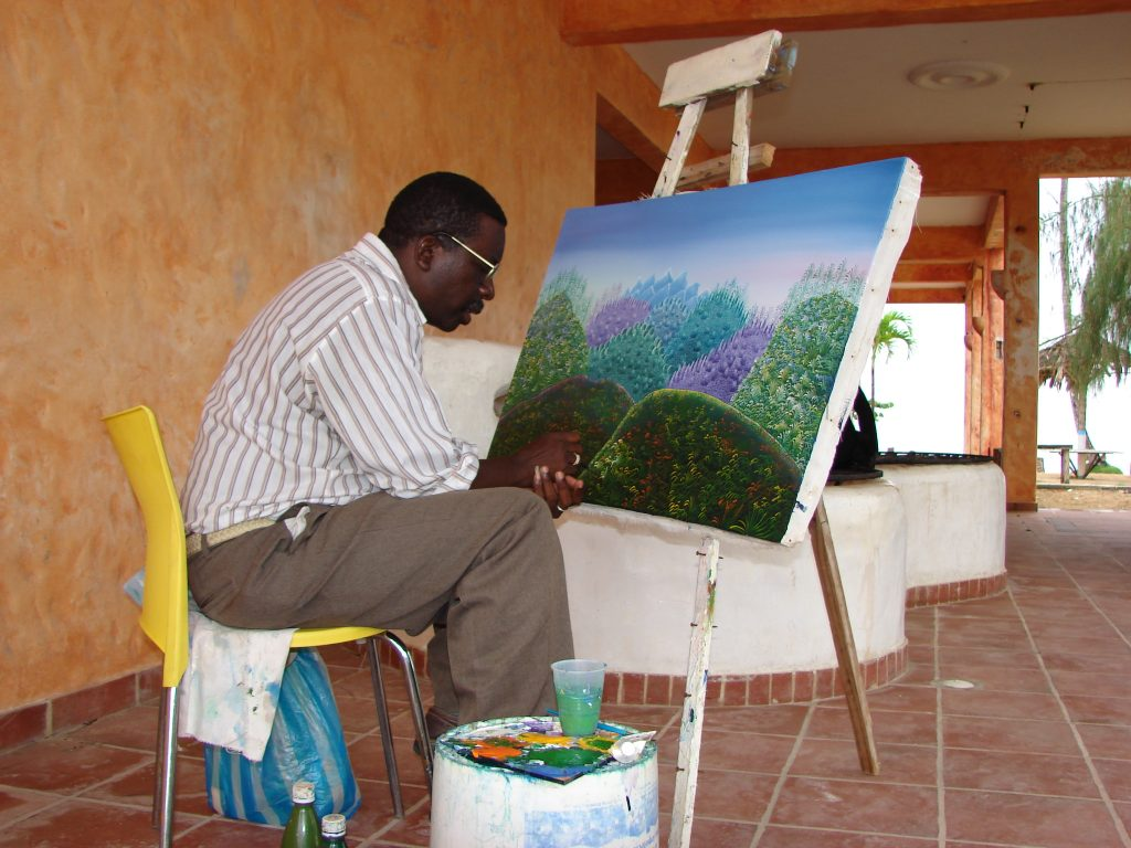 Haitańskie malarstwo.