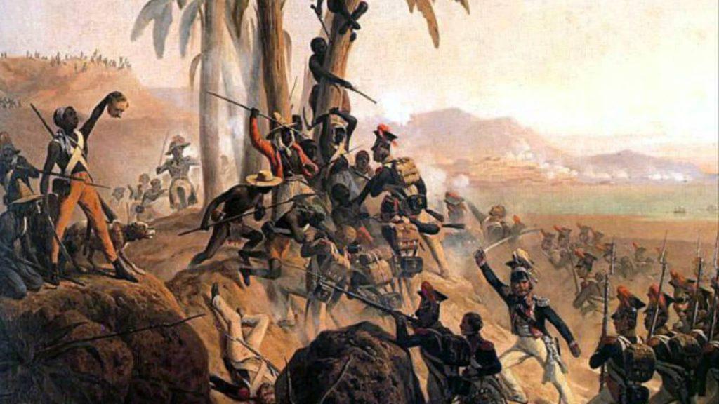 Bitwa na San Domingo (obraz z 1845 r.), January Suchodolski