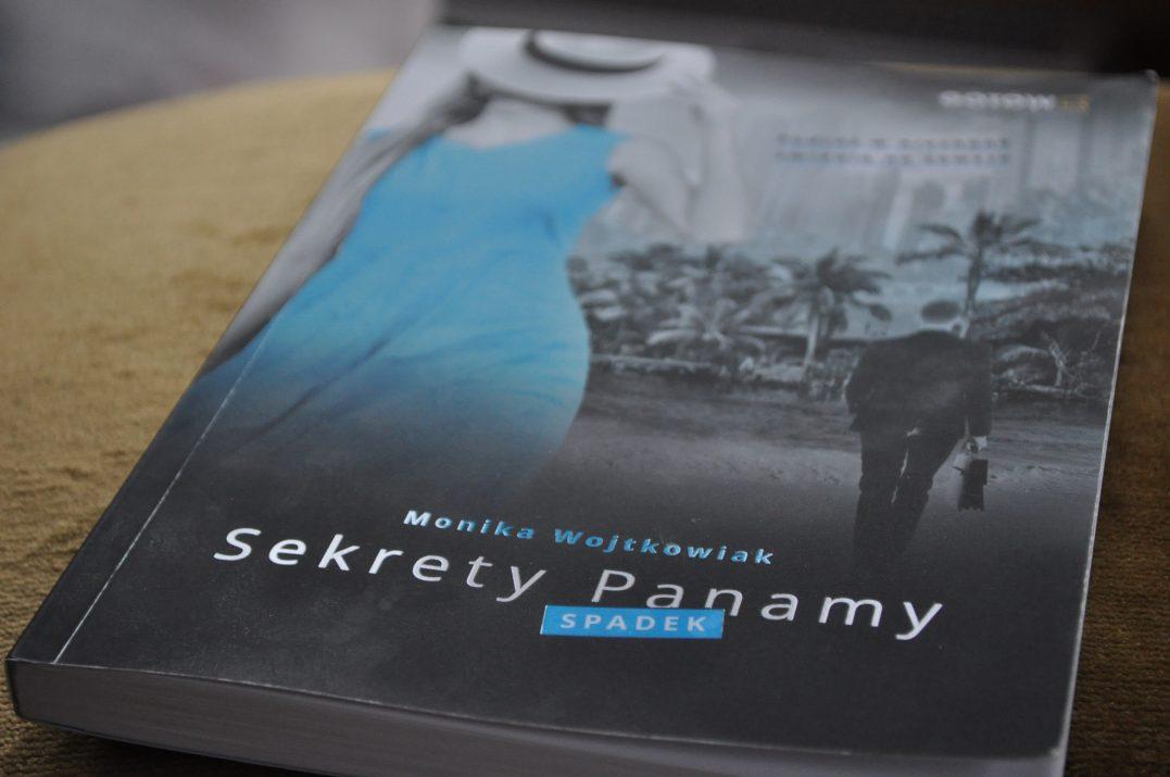 Książka Sekrety Panamy Monika Wojtkowiak.