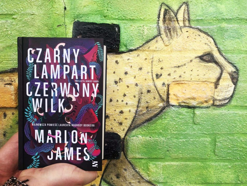 """""""Czarny Lampart Czerwony Wilk"""", Marlon James - recenzja powieści"""